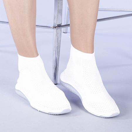 Pantofi sport dama Catalina albi0