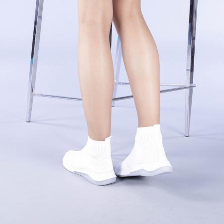 Pantofi sport dama Catalina albi3