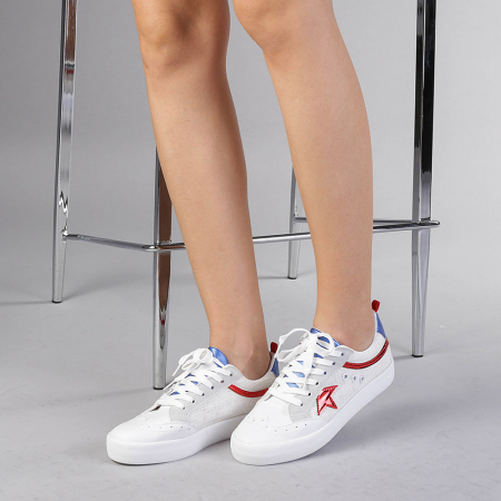 Pantofi sport dama Cecilia rosii0