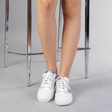 Pantofi sport dama Cecilia rosii1