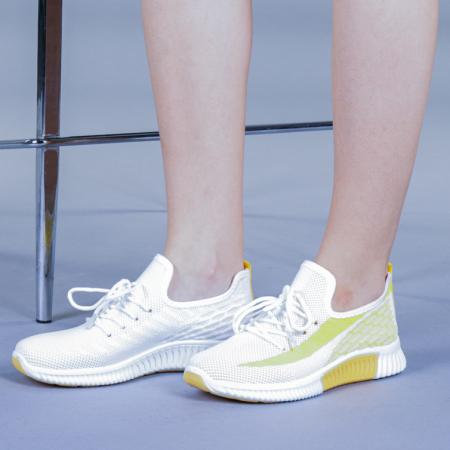 Pantofi sport dama Cindy galbeni0