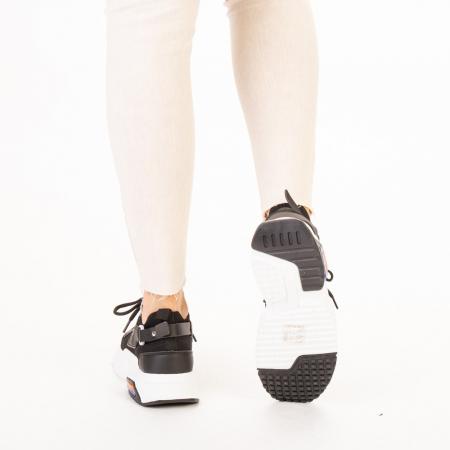 Pantofi sport dama Denice negri3