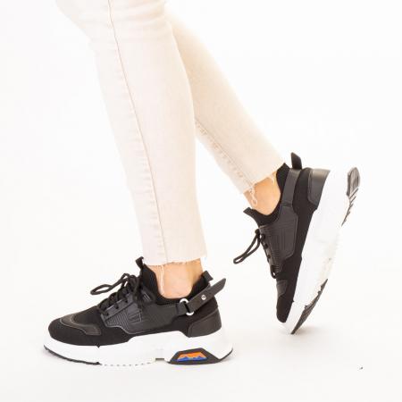 Pantofi sport dama Denice negri2