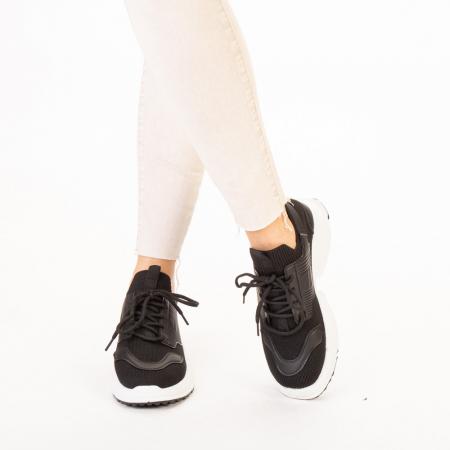 Pantofi sport dama Denice negri1