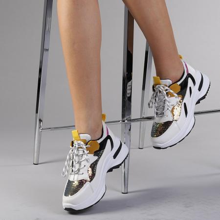 Pantofi sport dama Eduarda albi2