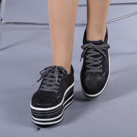 Pantofi sport dama Evolette gri0