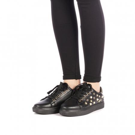 Pantofi sport dama Farimo negri2