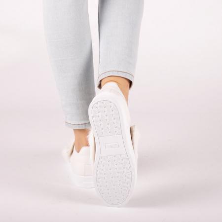 Pantofi sport dama Fedora albi2