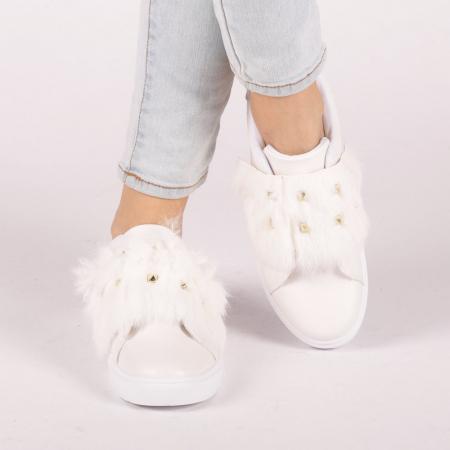 Pantofi sport dama Fedora albi4