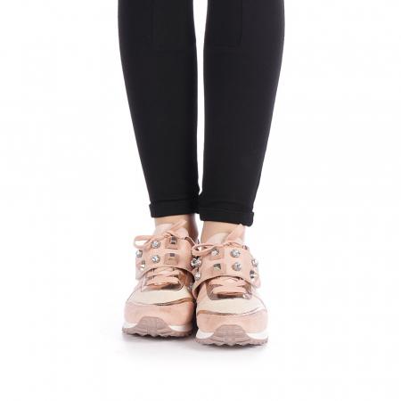 Pantofi sport dama Femos roz4