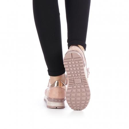 Pantofi sport dama Femos roz3