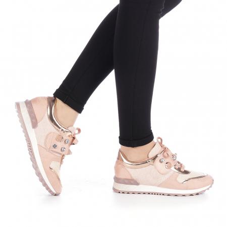 Pantofi sport dama Femos roz0