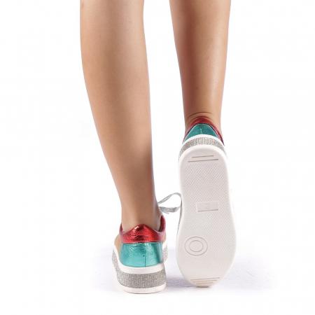 Pantofi sport dama Flavia camel2