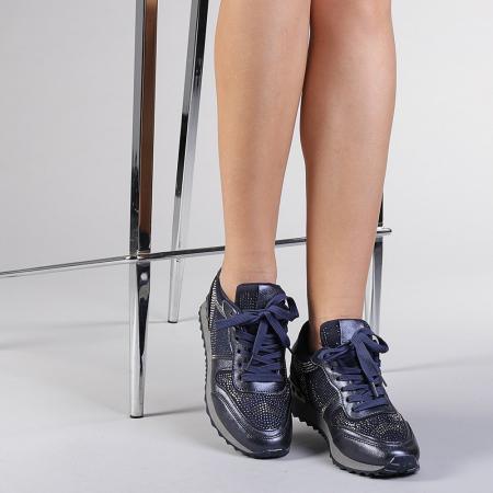 Pantofi sport dama Fleurette albastri1