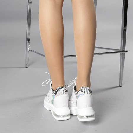 Pantofi sport dama Florice albi3
