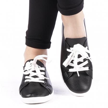Pantofi sport dama Histrol negri1