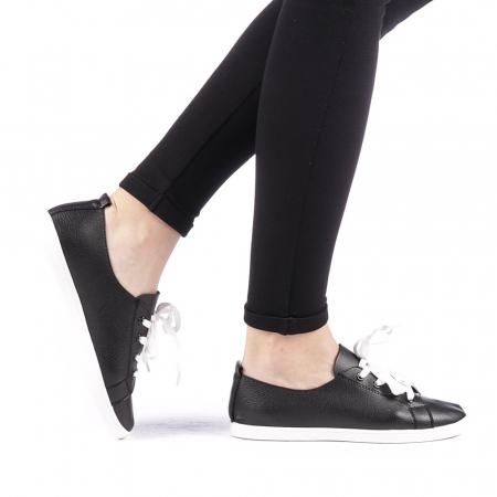 Pantofi sport dama Histrol negri0