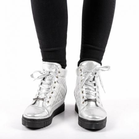 Pantofi sport dama  Jolly argintii3