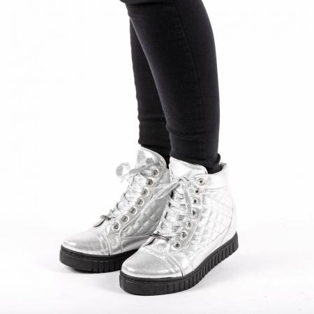 Pantofi sport dama  Jolly argintii1