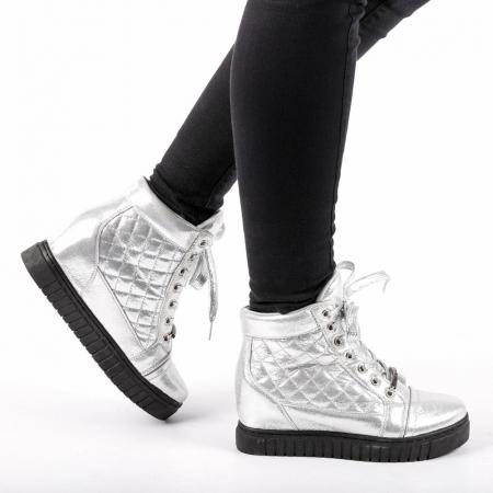 Pantofi sport dama  Jolly argintii0