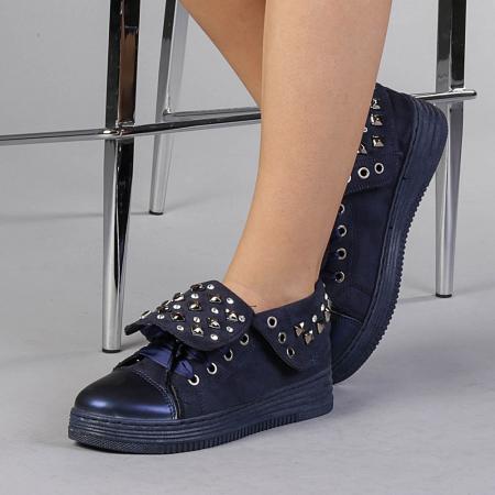 Pantofi sport dama Julles albastri0