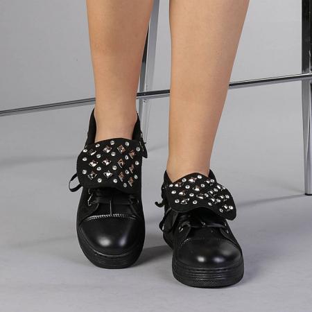 Pantofi sport dama Julles negri1