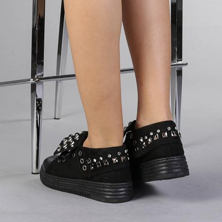 Pantofi sport dama Julles negri3