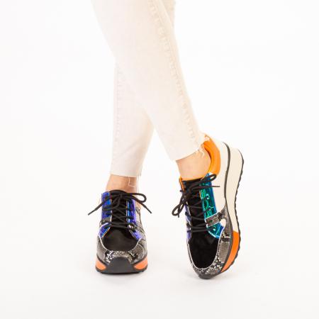 Pantofi sport dama Karem negri1