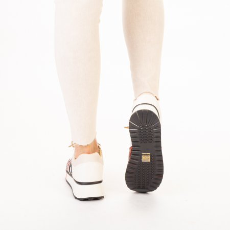 Pantofi sport dama Karem rosii3