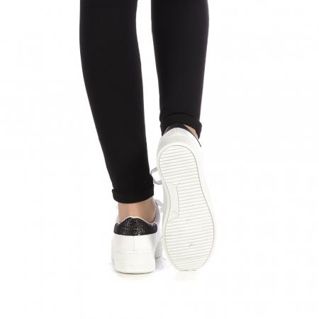 Pantofi sport dama Laila albi3