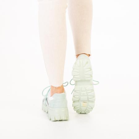 Pantofi sport dama Liberta verzi3