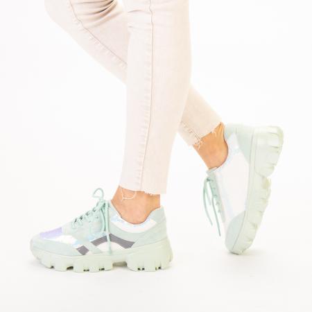 Pantofi sport dama Liberta verzi2