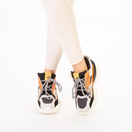 Pantofi sport dama Live gri multicolor1