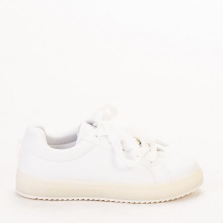 Pantofi sport dama Luela albi0