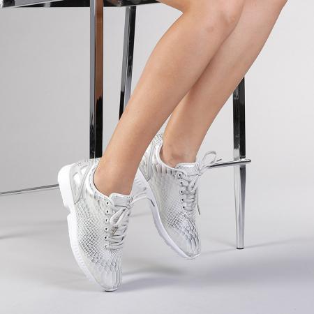 Pantofi sport dama Marmaid argintii2