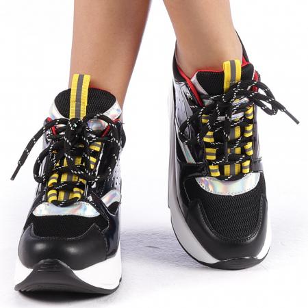 Pantofi sport dama Mayrra negri4