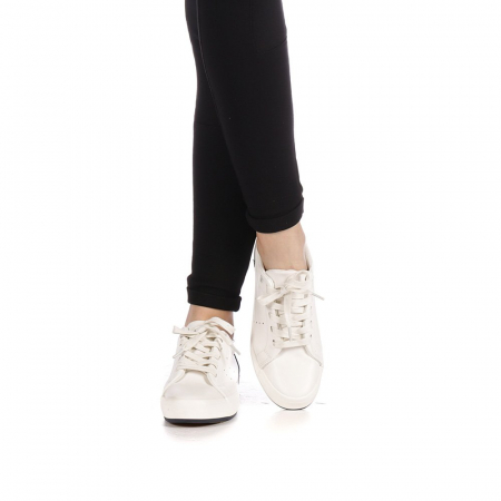 Pantofi sport dama Melgar albi cu navy1