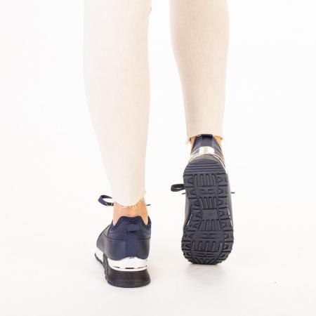 Pantofi sport dama Nava navy3