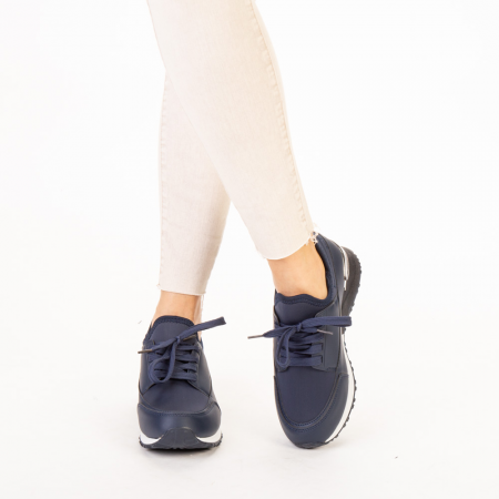 Pantofi sport dama Nava navy1