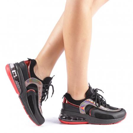 Pantofi sport dama Nikol negri0