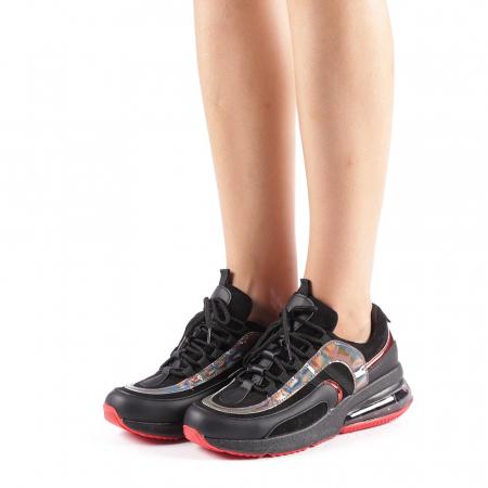 Pantofi sport dama Nikol negri1