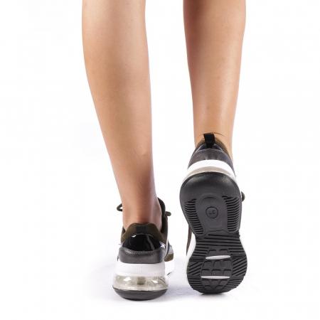 Pantofi sport dama Nikol verzi2