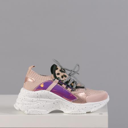 Pantofi sport dama Noha roz0