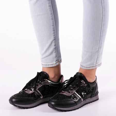 Pantofi sport dama Olena negri1