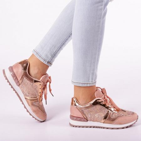 Pantofi sport dama Olena roz0