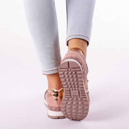 Pantofi sport dama Olena roz2