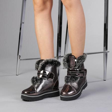 Pantofi sport dama  Olive bronz2