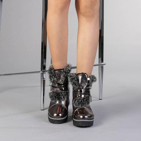 Pantofi sport dama  Olive bronz1