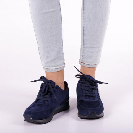 Pantofi sport dama Onora albastri5