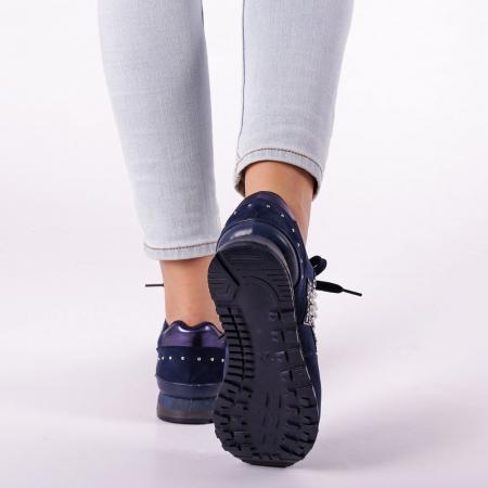 Pantofi sport dama Onora albastri4